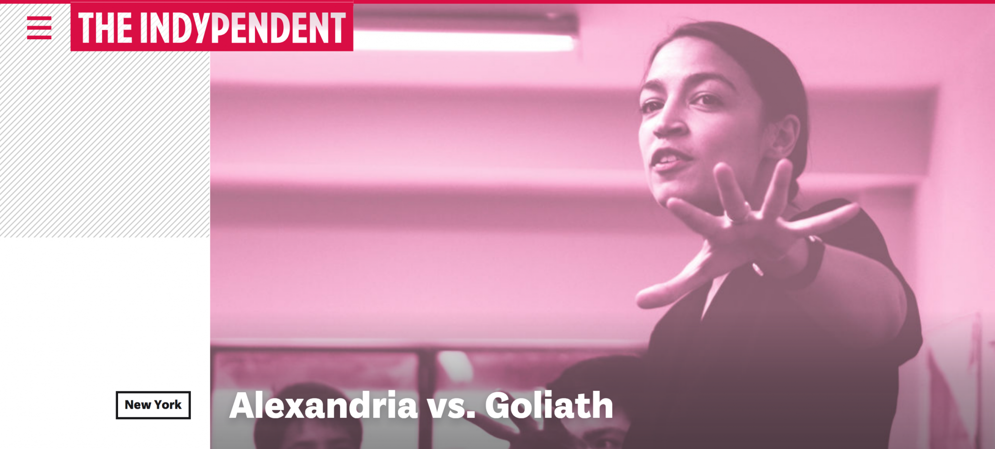 Indypendent : Alexandria Ocasio-Cortez vs. the Goliath Joseph Crowley Queens party boss