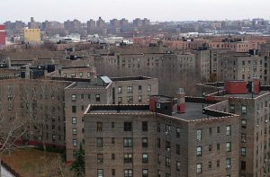 NYCHA housing in Queens